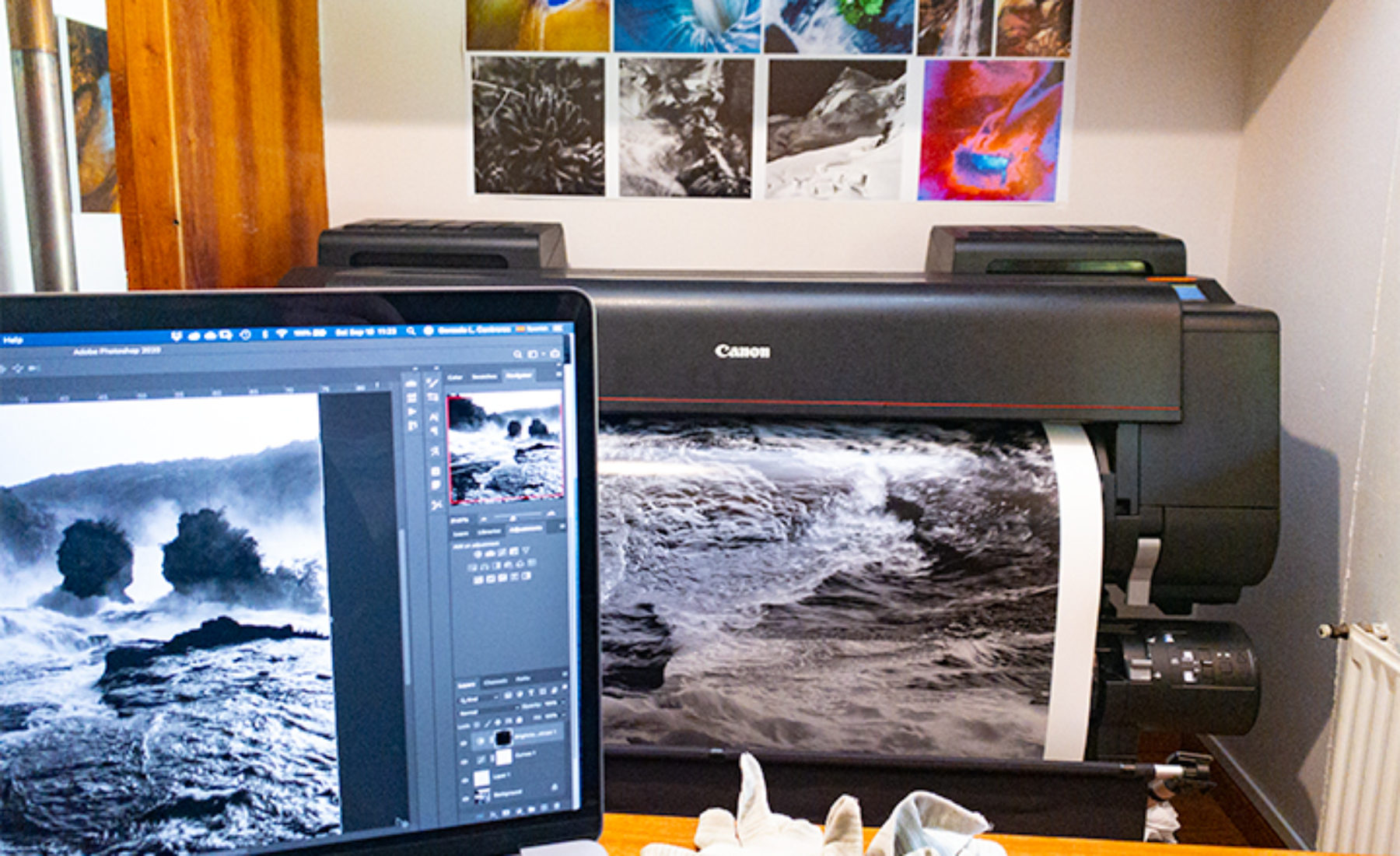 Canon imagePROGRAF Pro-4000 at Calera de Tango