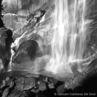 Vernal Falls at a close