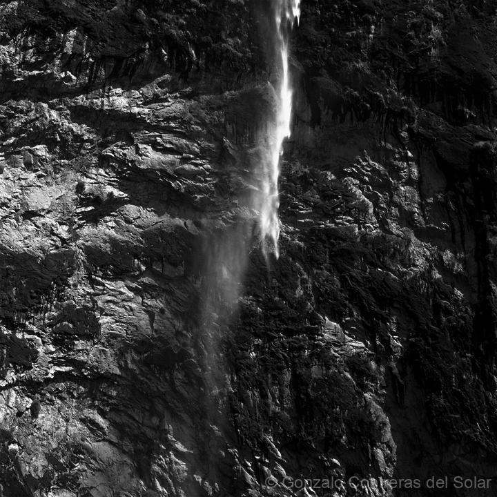 Cajón Río Colorado Waterfall