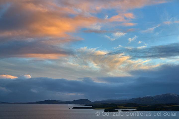 Iceland November day light time