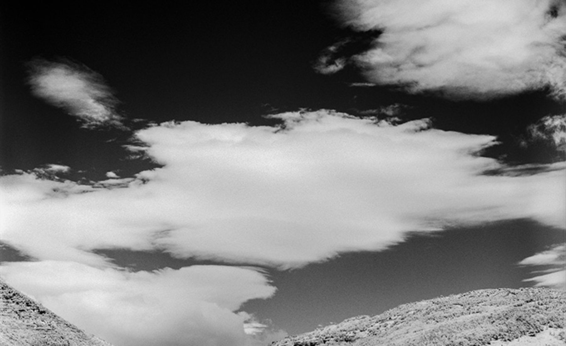 Patagonia with infrared